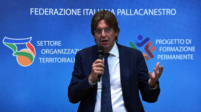 Marco Tajana Presidente SOT Federazione Italiana Pallacanestro