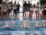 Rari Nantes Legnano campionati regionali nuoto sincronizzato 26 gennaio 2020