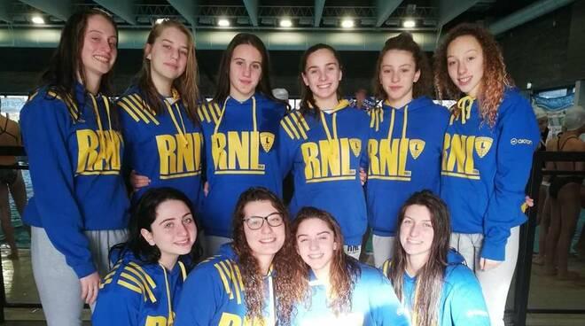 Rari Nantes Legnano Nuoto Sincronizzato Campionati Regionali Lombardi gennaio 2020