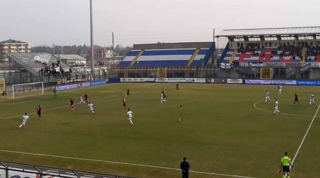 Aurora Pro Patria - Arezzo 0-1