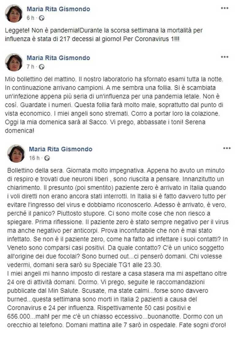 Dottosera Maria Rita Gismondo