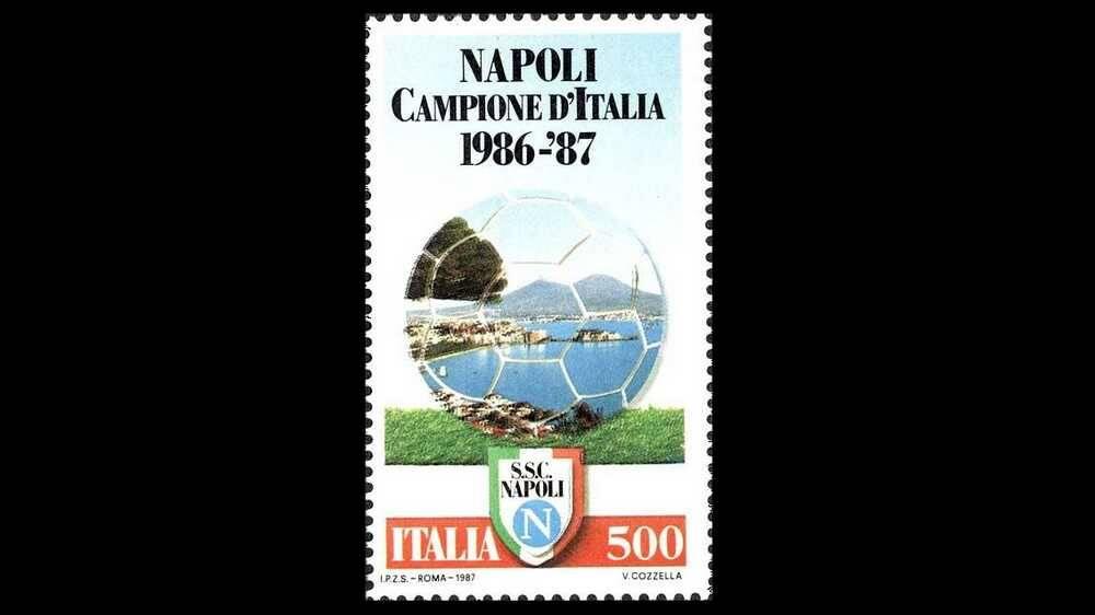 Francobolli Calcio Italiani