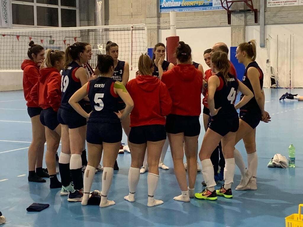 GS FoCoL Volley Legnano-Arcobaleno Venegono 3-0