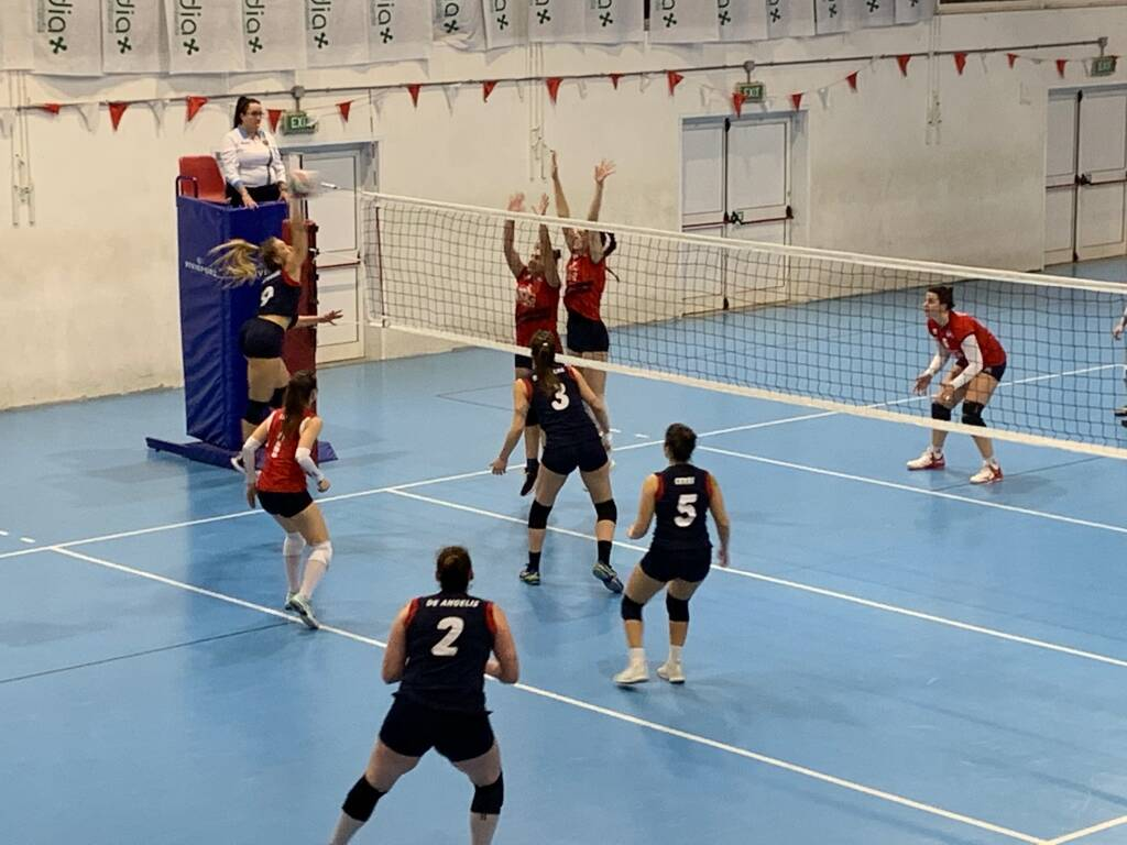 GS FoCol Volley Legnano-Omg Cinisello 3-1