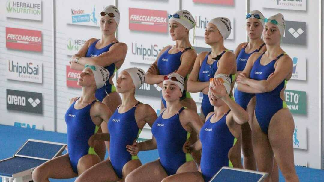 Rari Nantes Legnano Campionati Italiani Assoluti Invernali Nuoto Sincronizzato