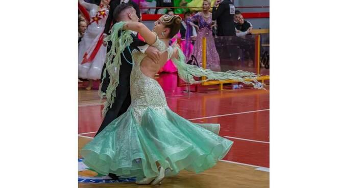 Sara Pedranti Matteo Tomasoni Danza sportiva Castellanza