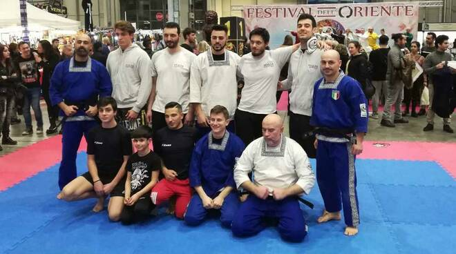 Team Barretta Pankration Festival dell'Oriente Milano