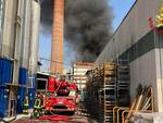 Incendio Gallazzi Gallarate