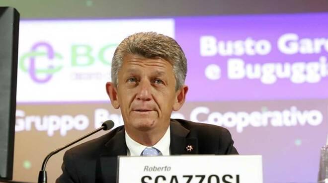 Roberto Scazzosi Presidente BCC Busto Garolfo e Buguggiate