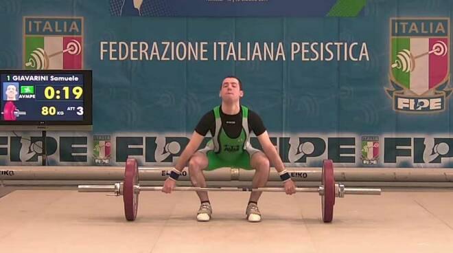 Samuele Giovarini A.V.M. Pesistica Legnano