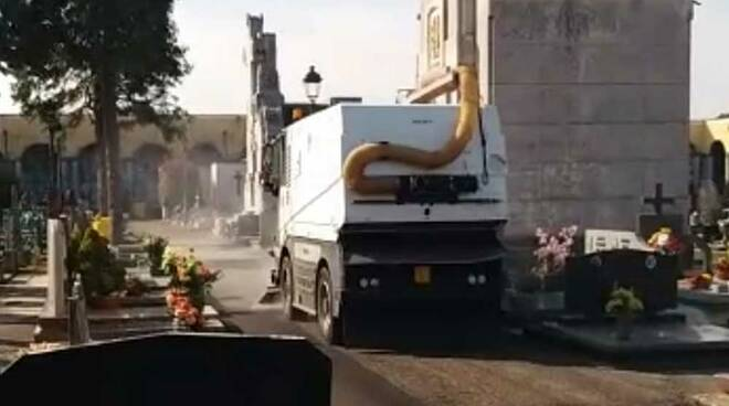 Sanificazione strade Canegrate