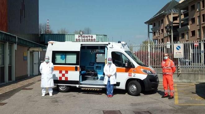 Ambulanza Gruppo Sea Malpensa