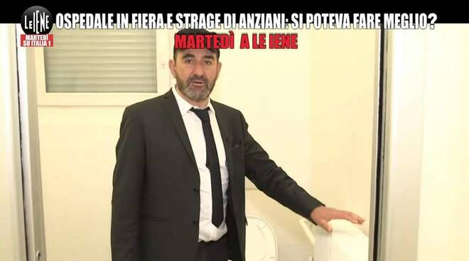 Luigi Pelazza Le Iene Ospedale di Legnano