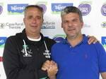 Mister Stefano Manfioletti e il Presidente del Dro Lucio Carli