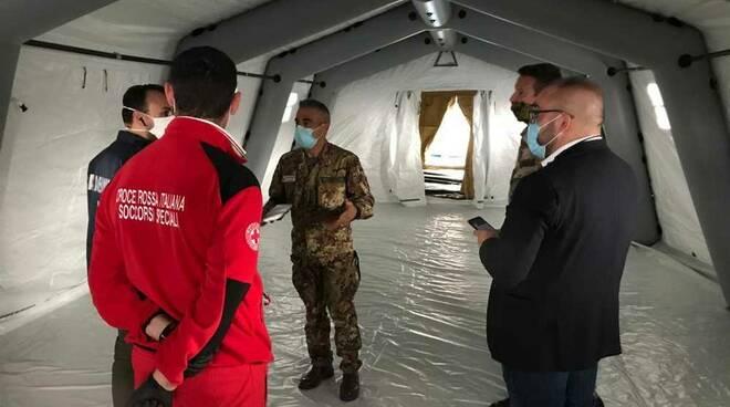 Philips Foundation struttura mobile Centro di Pronto intervento Croce Rossa Legnano