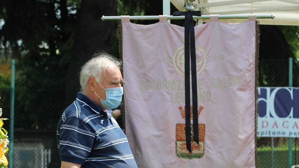 Andrea Rinaldi funerali Cermenate A.C. Legnano