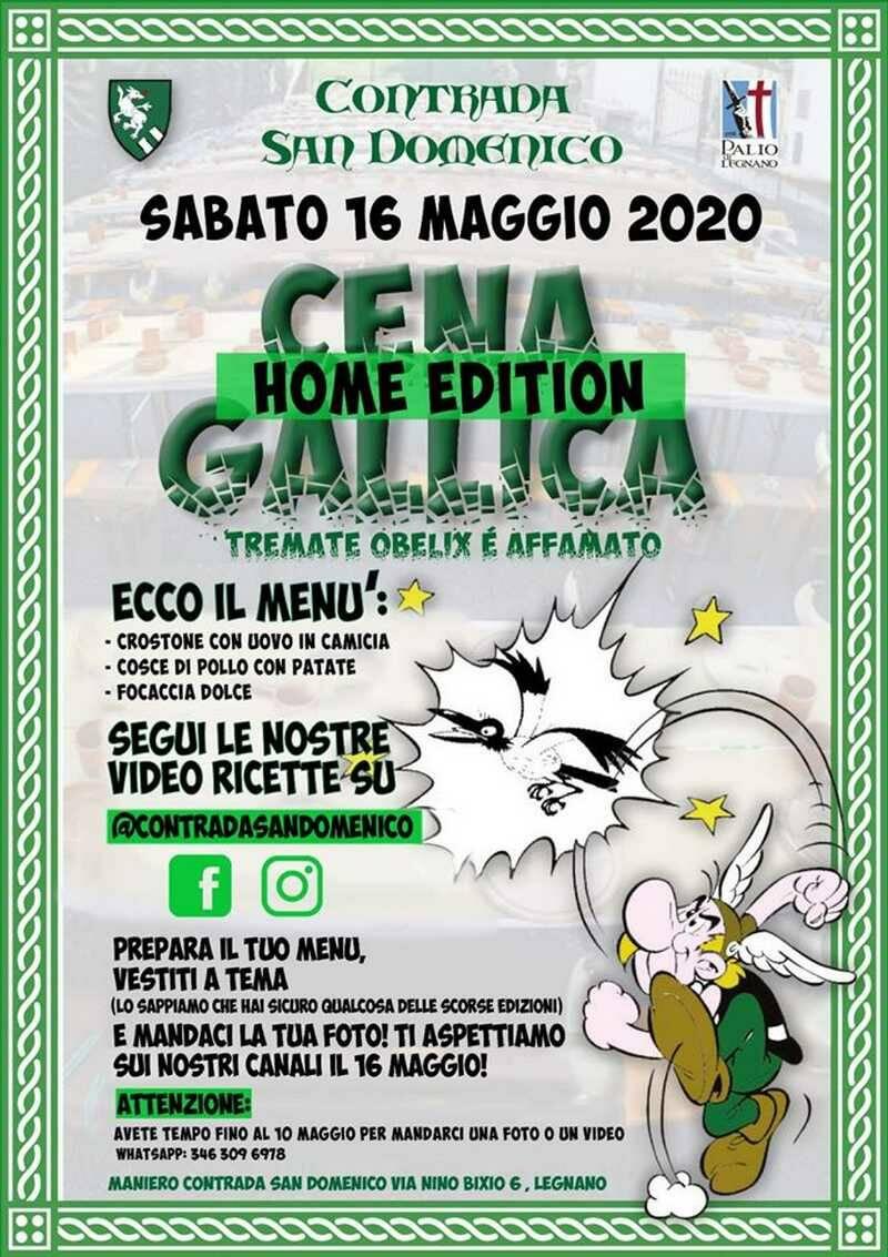 Cena Gallica Contrada San Domenico