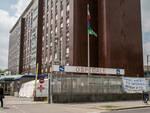 I militari della NATO bonificano gli ospedali dell'ASST Valle Olona