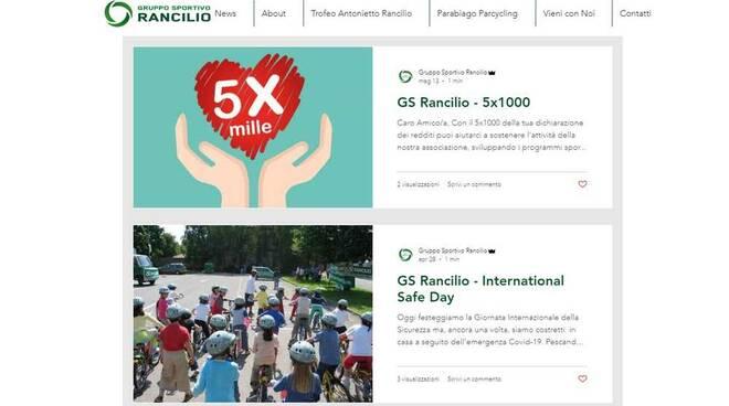 Nuoto sito web G.S. Rancilio Parabiago