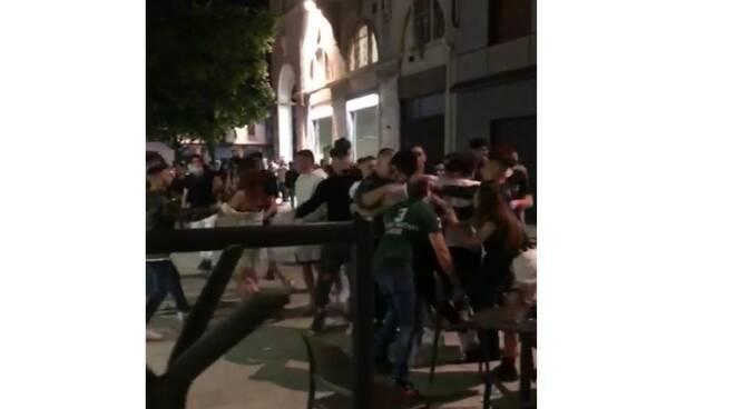 Rissa in centro a Legnano