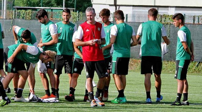 Achille Mazzoleni allenatore Castellanzese Serie D