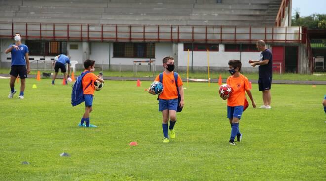 """Prosegue l\'attività sportiva in \""""sicurezza\"""" al Calcio San Giorgio."""