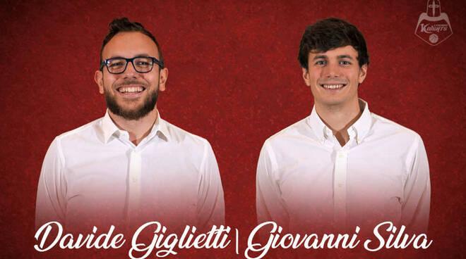 Davide Giglietti Giovanni Silva Knights Legnano Basket
