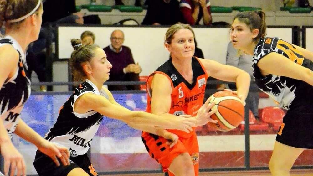 Gaia Cassani Bulldog Basket Canegrate