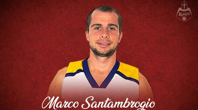 Marco Santambrogio Knights Legnano Basket