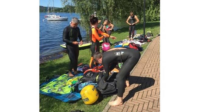 Nuotatori del Carroccio Salvataggio Piemonte Lago di Viverone