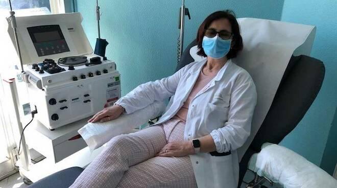 Patrizia Merlo Ospedale Busto Arsizio donazione plasma iperimmune