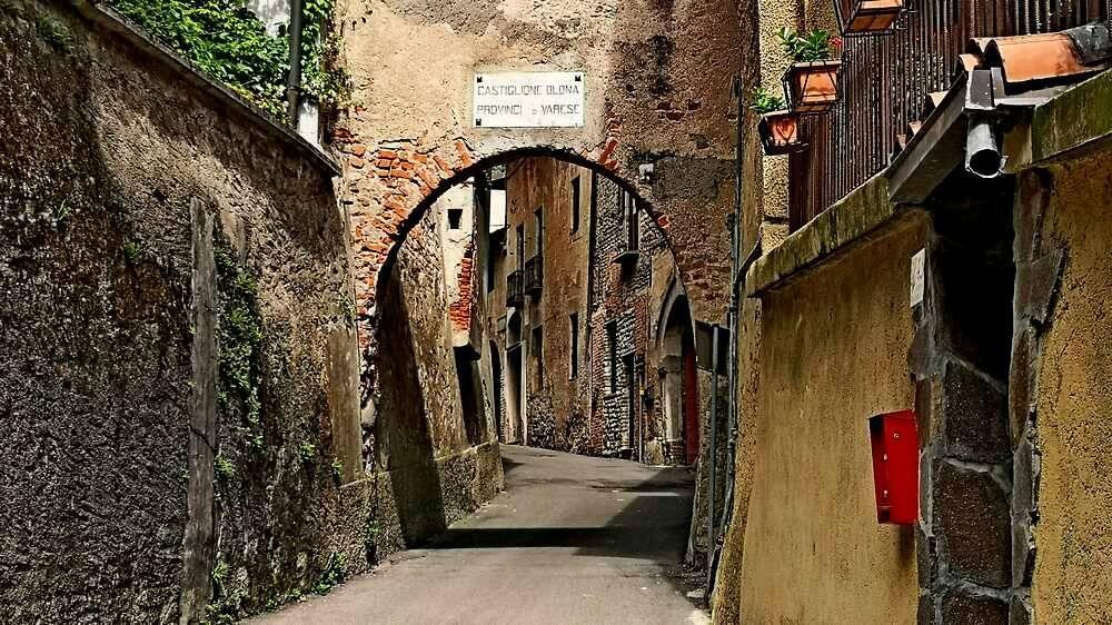 Valle Olona Castiglione Olona Via Francisca del Lucomagno