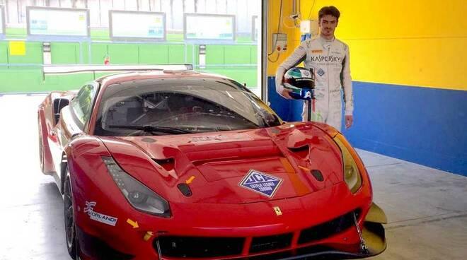 Alessio Rovera Ferrari 488 GT3