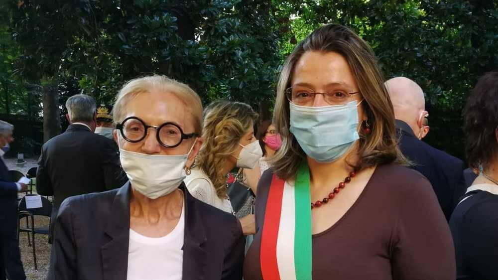 Carmen Colombo Galli e Enrico Dalceri insigniti delle Onorificenze dell'Ordine Al Merito della Repubblica Italiana