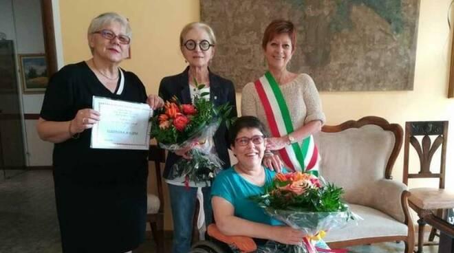 Carmen Colombo Galli insignita delle Onorificenze dell'Ordine Al Merito della Repubblica Italiana