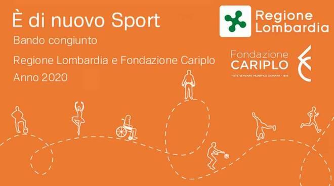 E' di nuovo sport 2020 Regione Lombardia Fondazione Cariplo