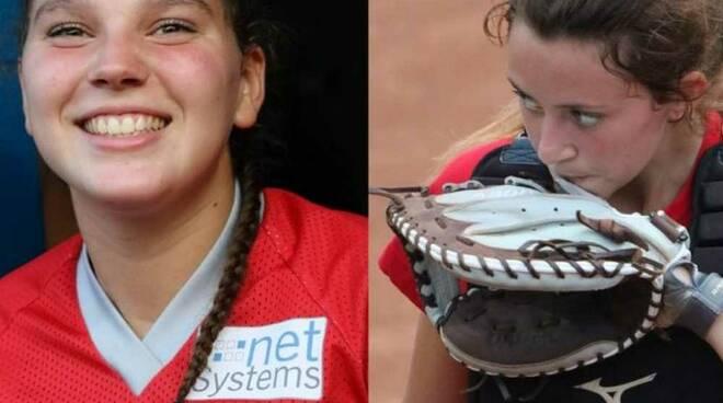 Giulia Bancora e Camilla Fazio Legnano Softball