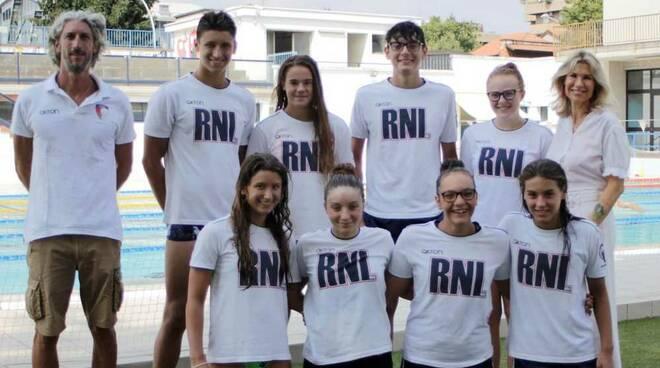 Rari Nantes Legnano Nuoto Esordienti A