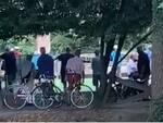 Anziani al Parco Castello Legnano