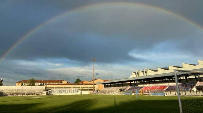 Arcobaleno Stadio Mari Legnano