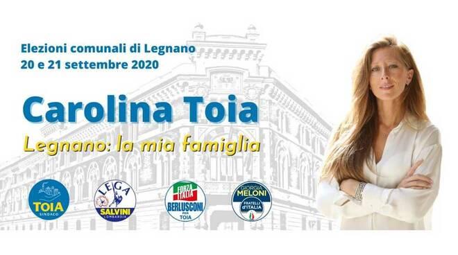 Carolina Toia candidato sindaco Legnano amministrative 2020