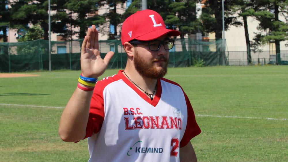 Daniele Zagarella Legnano Baseball