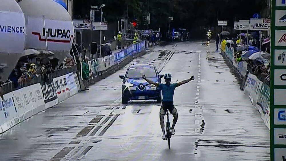 Il basco Gorka Izaguirre vince il Grande Trittico Lombardo