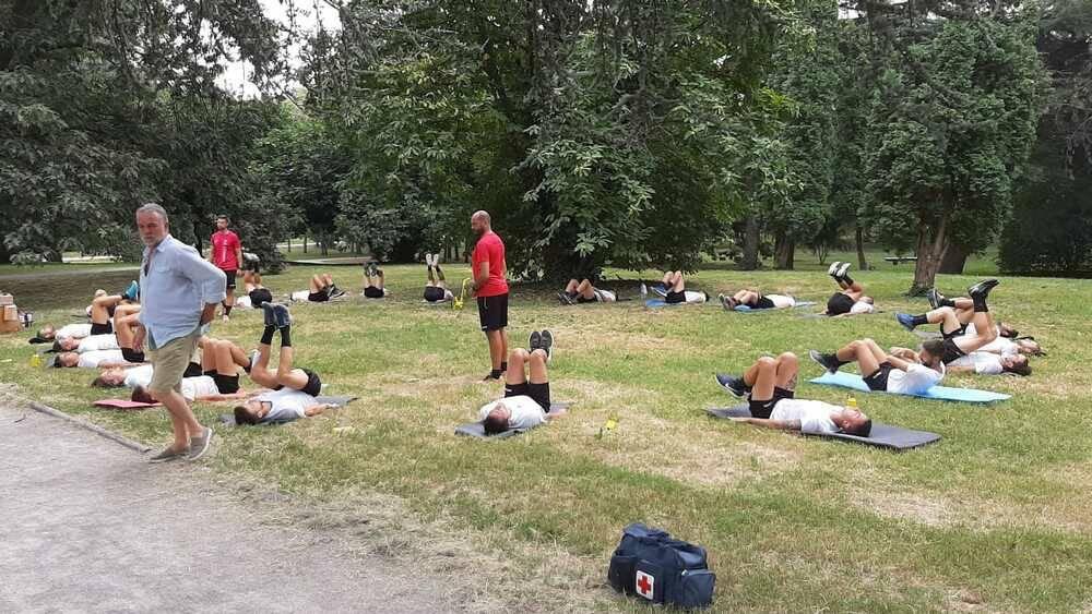 Legnano calcio allenamenti Parco Castello