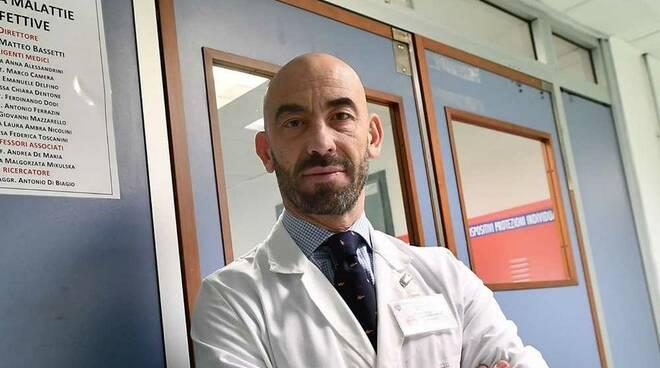 Matteo Bassetti Ospedale San Martino Genova