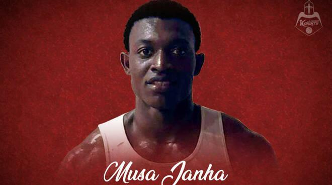 Musa Janha Knights Legnano ABA