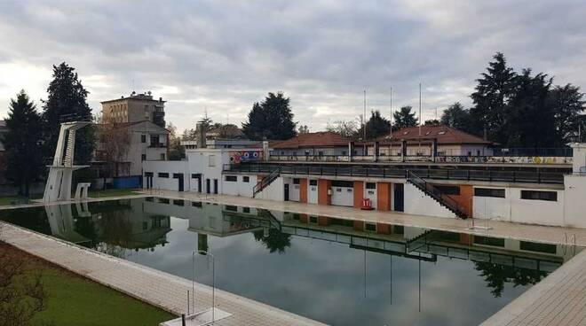 Piscina di Legnano vasca olimpica