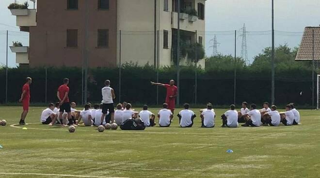 Primo allenamento A.C. Legnano 2020/21