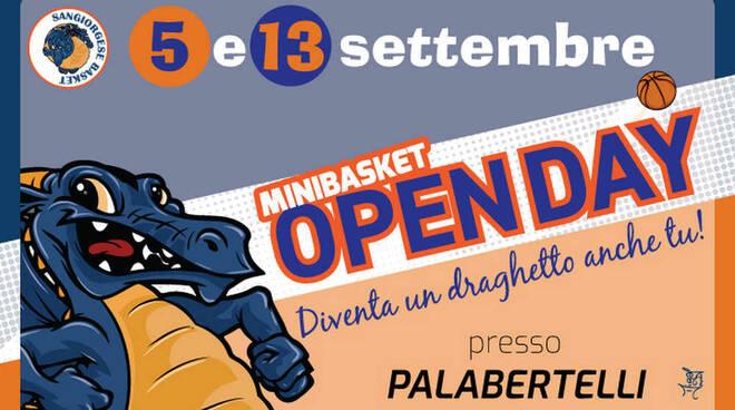Sangiorgese Basket Open Day Minibasket