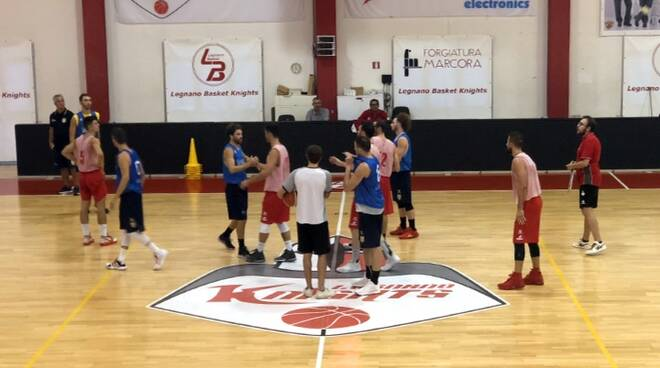 Amichevole Legnano Vigevano basket